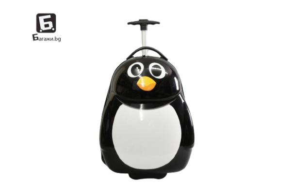 Детски куфар пингвин код: 31799