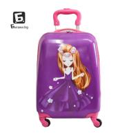 Детски куфар с четири колела принцеса код: 31800