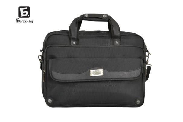 Висок клас чанта за лаптоп/ бизнес чанта от текстил