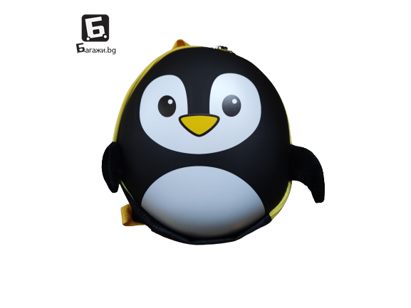 Детска 3Д раница- пингвин