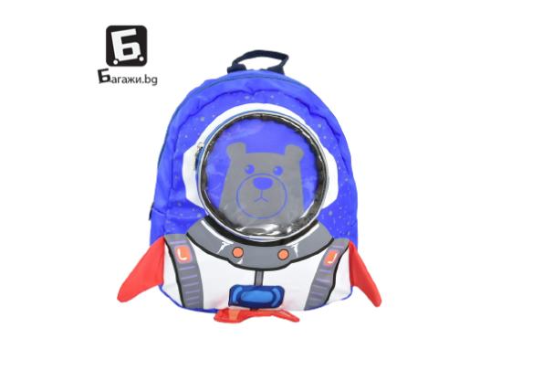 Детска раница мече космонавт КОД: 31787