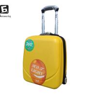 Куфар за ръчен багаж в самолет 44Х34Х20- жълт