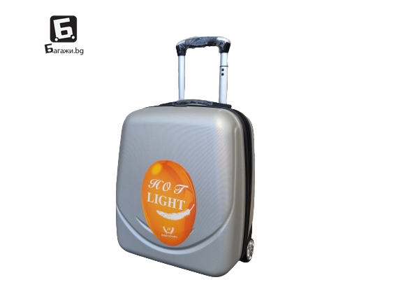 Куфар за ръчен багаж в самолет 44Х34Х20- сив