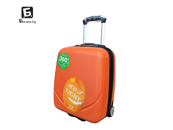 Куфар за ръчен багаж в самолет 44Х34Х20- оранжев