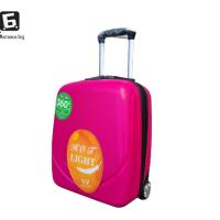 Куфар за ръчен багаж в самолет 44Х34Х20- розов