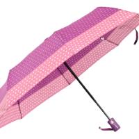 Автоматичен дамски чадър- лилав