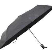 Полуавтоматичен сгъваем чадър- черен