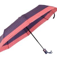 Автоматичен дамски чадър- син