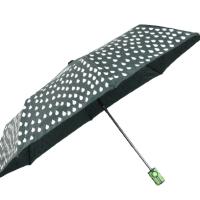 Полуавтоматичен магически чадър- зелен