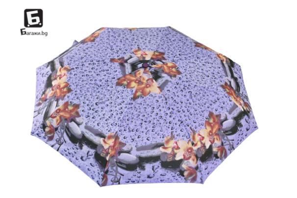 Автоматичен сгъваем чадър- капки