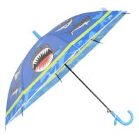 Детски чадър син с акули