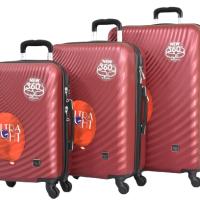 Твърди куфари в три размера- бордо код: 8077